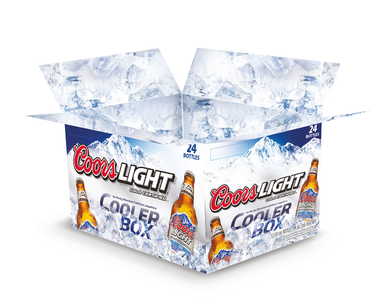 coors light cooler box